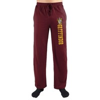Harry Potter Gryffindor House Crest Print Men's Loungewear Lounge Pants