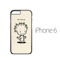 Baby Groot Smile iPhone 6 Case