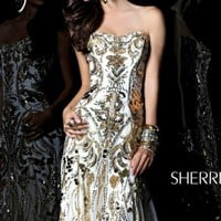 Sweetheart Long Dress by Sherri Hill