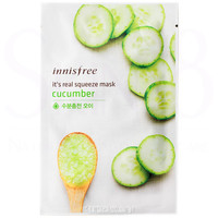 Innisfree It's Real Squeeze Mask - Cucumber  *exp,date 12/18