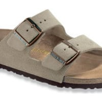 Arizona  Taupe Suede Sandals | Birkenstock USA Official Site