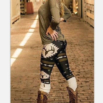 Camouflage Outdoors Leggings [187927298073]