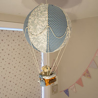 Personalised Hot Air Balloon Lightshade