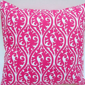 Premier Prints Pink Kimono Pillow Cover 18 x 18 Inches Decorative Pillow Throw Pillow Cushion Cover