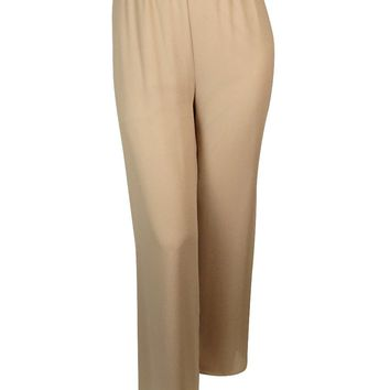 Alex Evenings Women's Crepe Stretch Evening Pants