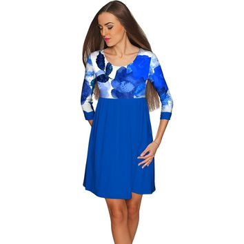 Blue Blood Gloria Empire Waist Casual Dress - Women