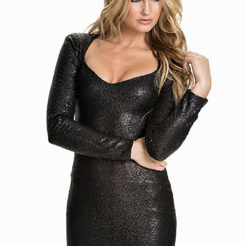 Commander Sequin Dress, NLY Trend