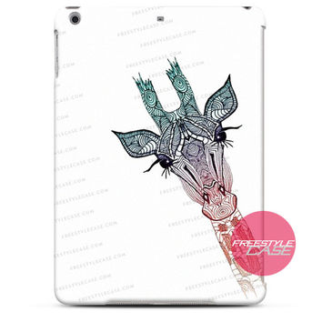 Cute Giraffe Vintage canvas iPad Case 2, 3, 4, Air, Mini Cover