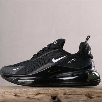 Newest Nike Air Max 720 Black/ White Running Shoes - Best Online Sale