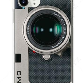 Old School Camera Style Silicone Protective Iphone Case