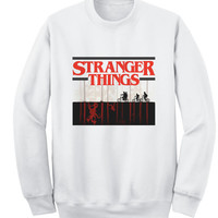 Stranger things, Sweat unisexe - TV show, Netflix Tee, movie, tv, Stranger Things sweat, Stranger Things pull, movie sweat, TV serie sweat