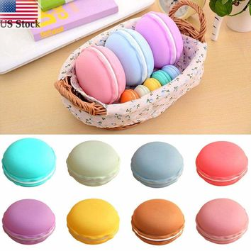 For Earphone TF SD Card Macarons Bag Big Storage Box Case Carrying Pouch 2017 US