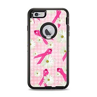 The Pink Ribbon Collage Breast Cancer Awareness Apple iPhone 6 Plus Otterbox Defender Case Skin Set