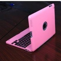 Vostrostone Bluetooth Keyboard Case for iPad2 - PINK