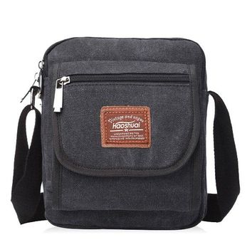 Canvas Casual Crossbody Bag