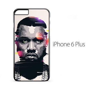 Kanye West Distorsion iPhone 6 Plus Case