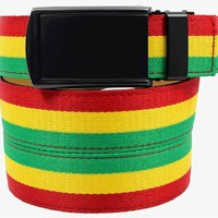 Rasta Canvas Belts