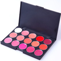 15 Color Lipstick Set Makeup cosmetic palette Lip Gloss (Size: 140 g) = 1747741636