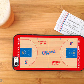NBA Teams Basketball Court, Custom Phone Case for iPhone 4/4s, 5/5s, 6/6s+ and iPod Touch 5