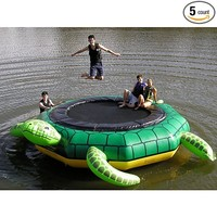 Island Hopper Turtle Jump 15 Foot Water Trampoline 2012