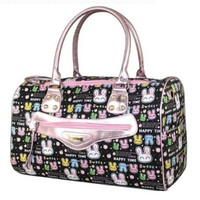 Lovely Black Pink Pet Dog Cat Bag Rabbit Carrier Large Best Beautiful Good Quality Fast Shipping Ship Worldwide