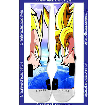 Custom Nike Elite Sock Dragon Ball Z