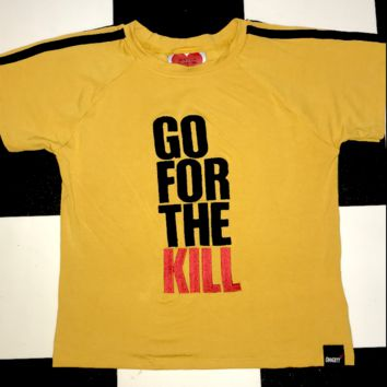 SWEET LORD O'MIGHTY! GO FOR THE KILL CROP TEE