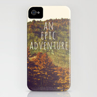 An Epic Adventure iPhone Case by Rachel Burbee | Society6