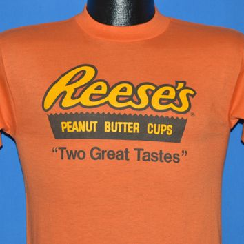 80s Reese's Peanut Butter Cup t-shirt Small