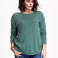 Old Navy Womens Plus Boat Neck Sweater