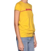 Indie Designs Vetements Inspired Parody DHL Cotton T-shirt