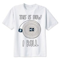 This Is How I Roll - Firefighter T-shirt