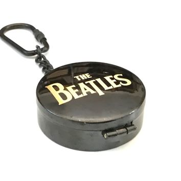 The Beatles Working Compass, The Fab Four Working Compass, Engravable Key Chain, Music Compass, Adventure Gifts