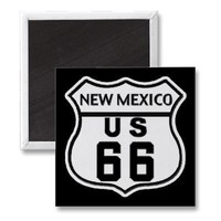 NM US ROUTE 66 MAGNET from Zazzle.com