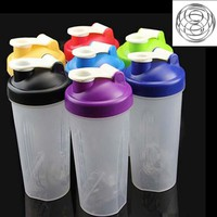 400/600ml Smart Shake Gym Protein Shaker Mixer Cup Potable Drink Whisk Bottle Sports