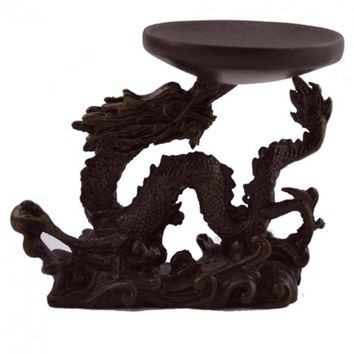 Flying Dragon Tealight Candle Holder