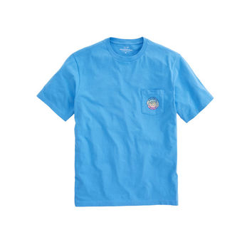 Gradient Marlin Pocket T-Shirt