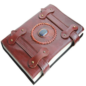 Leather Journal - Large Journal - Leather Diary - Handmade Leather Journal Diary - Artisan Journal Sketchbook - Leather Notebook - Handmade