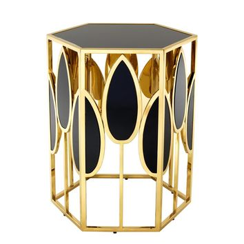 Gold Side Table | Eichholtz Florian