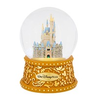 disney walt disney world cinderella castle musical snowglobe new with box