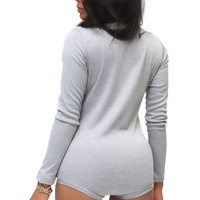 Trouble Maker thermal Onesuit, grey mist