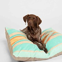 Bianca Green For DENY Fiesta Teal Pet Bed- Turquoise One