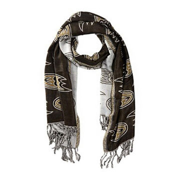 Anaheim Ducks NHL Fashion Team Scarf Black