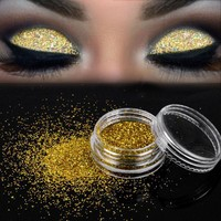 Sparkly Makeup Glitter Loose  Gold  Pigment Cosmetic  Makeup Beauty