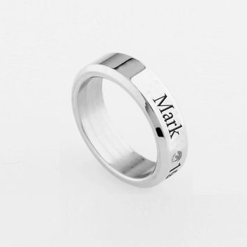 Youpop KPOP GOT7 Fly Hard Carry JB MARK JR Album Ring K-POP Jewelry Rings Accessories For Men And Women Female Male Boy Girl