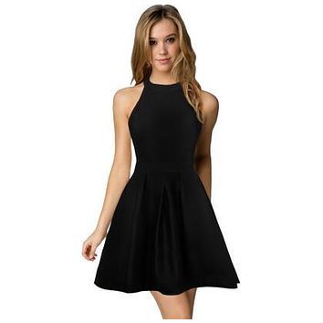 Womens Cute Wedding Cocktail Sexy Dresses