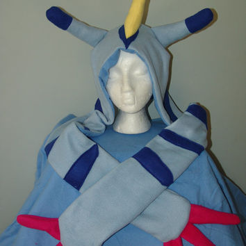 GABUMON inspired DIGIMON fleece hat scarf scoodie super kawaii for cosplay
