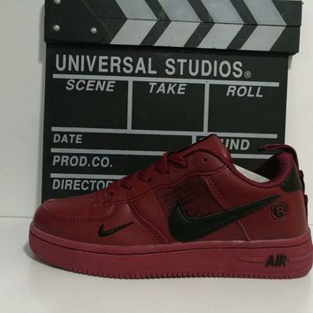 """""""Nike Air Double Hook"""" Unisex Sport Casual Classic Low Help Shoes Sneakers Couple Plate Shoes"""