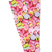 Candy Hearts Crew Socks