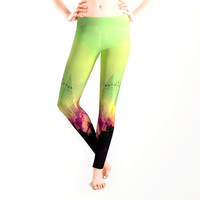 TREES under MAGIC MOUNTAINS V Leggings by Pia Schneider [atelier COLOUR-VISION]